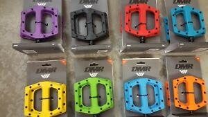 DMR V11 Pedals Mountain Bike BMX Platform Nylon Sealed Bearings (NEW) 9 Colours