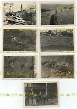 OLD CHINESE PHOTOS HONGKEW KIANGWAN & SOOCHOW BATTLE OF SHANGHAI CHINA 1937 ?