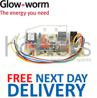 Glowworm Ultimate 40 50 60 70 80 FF PCB S900847 (7 Wire 2 Fuse) Genuine Part NEW