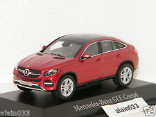 MERCEDES BENZ GLE KLASSE C292 COUPE 2015 RED METALLIC NOREV 1/43 Ref BP6960357