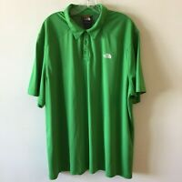 The North Face 3 Button Polo Knit Stretch Shirt Men's 2XL XXL NWOT