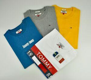 Tommy Hilfiger Logo Crew Neck x 4 T-Shirt Summer Pack For Men