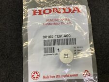 Genuine Honda Lower Cover Bolt 90105-TBA-A00