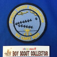 Boy Scout Camp Patch 1969 Pipsico Early Bird (Tidewater Council)