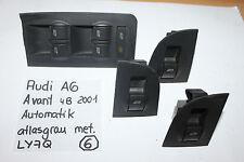 Zentralschalter elek.Fensterheber vo li 4B0959851 3x 4B0959855*AUDI A6 4B S6 Ava