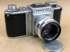 Tower 23 Vintagecamera w/ 58mm f/2.4 Takumar Asahi-Kogaku Asahiflex IIB