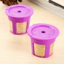 24K Fine Gold Plated K Cup Coffee Filter For 2.0 1.0 Keurig Brewers 1x i Cafilas