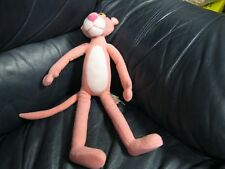 Pink Panther Posable Bendable Soft Stuffed Plush Plushie Doll Figure Toy