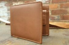 MENS LUXURY GENUINE LEATHER WALLET, CREDIT CARD HOLDER, PURSE TAN COIN POCKET