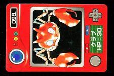 POKEMON JAPANESE BANDAI POCKET MONSTERS POKEDEX N°   98 KRABBY