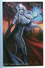 Lady Death Pin Ups #1 Autumn NAUGHTY Variant Dawn McTeigue Cover Signed /69
