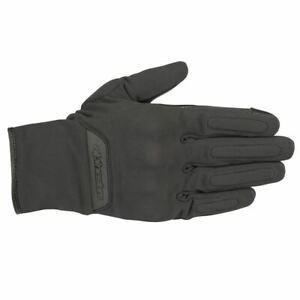 Alpinestars C-1 v2 Gore-Tex CE Waterproof Motorcycle Motorbike Gloves Black