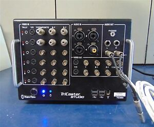 NewTek TriCaster TC350 Broadcast Production Studio - Powers Up - S2942x