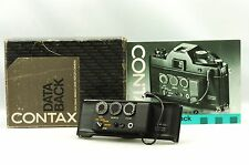 @ Ship in 24 Hours! @ Rare In Original Box! @ Contax Data Back Full Set for RTS