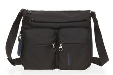 Ladies shoulder bag expandable MANDARINA DUCK MD20 MTX6 Black