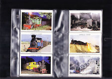 cigarette cards in search of steam trains full set