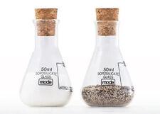 Prodotti sale pepe in vetro per sale, pepe, olio e aceto