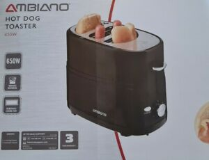 Ambiano American Hot Dog and Bun Toaster MachineElectric Cooker 650W  BRAND NEW