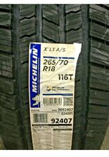265/70/18 116T MICHELIN XLT  A/S