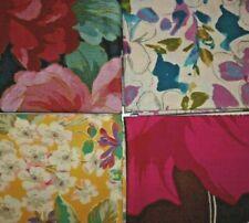 material remnants/offcuts/scraps - 4 floral designs