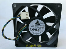 for DELTA EFB0812HHB 8015 12V 0.40A 8cm PWM speed control fan