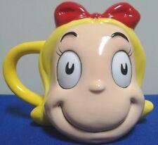 Cindy Lou Who Mug Dr. Seuss Grinch Stole Christmas Ceramic Cup Face 3D Vandor 16