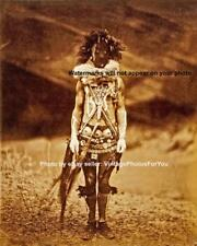 Old Vintage Navajo Native American Mask Costume Nayenezgani Photo Picture