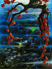 """Eyvind Earle     """"Valley of Dreams""""    MAKE  OFFER    DSS"""