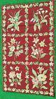 "Stunning Hand Stitched Needlepoint Vintage Antique Carpet Rug 50 x 30"""