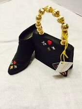 Retired 1999 Just The Right Shoe Queen Of Hearts Shoe & Purse