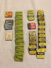 (165) Vintage Mixed Fuses Lot Littlelfuse Buss Killark Atlas USA Made MDL SFE