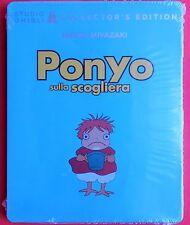 blu ray disc+dvd steelbook metal box ponyo sulla scogliera collector's edition v