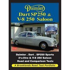 Daimler Dart SP250 & V-8 250 Saloon Road Test Portfolio book paper car