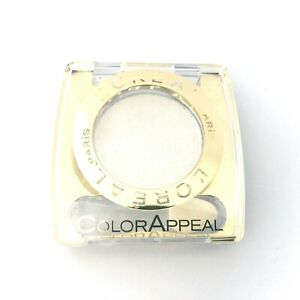 L'Oreal Color Appeal Mono Eyeshadow Pure White 10