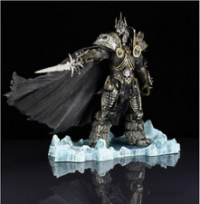 WOW WORLD OF WARCRAFT Arthas Menethil Lich King Action Figure Statue Toy 21 cm