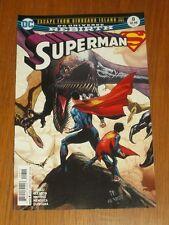 SUPERMAN #8 DC UNIVERSE REBIRTH