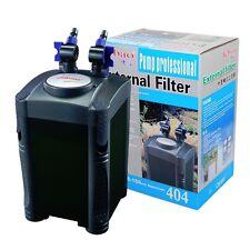 100 Gallon Aquarium Fish Tank External Canister Filter + Media Kits Self Priming