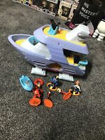 Incredibles Boat Disney Pixar With Jakks Figures Bundle Syndrome Violet Dash