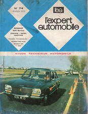 RTA revue technique automobile n°74 PEUGEOT 504 berliine essence diesel injectio