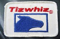 "TIZWHIZ FARM FEED EMBROIDERED SEW ON ONLY PATCH HORSE HEAD 3 1/4"" x 2 1/4"""