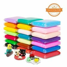 Modelling Clay Aitsite 24 Colours Super Light Polymer Clay Air Dry Magic Clay