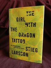 The Girl With the Dragon Tattoo by Stieg Larsson 1st US Edition, 1st Print 2008