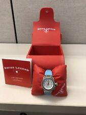 "Brand-new original Swiss Legend ""Trimix Diver"" ladies watch, box & papers"