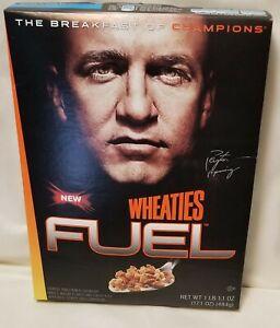 2009 - WHEATIES FUEL CEREAL BOX - Peyton Manning *NEW* Unopened *NIB*
