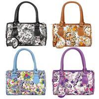 Flowers Women Handbags Fashion Ladies PU Leather Tote Shoulder Bags Purse Bag