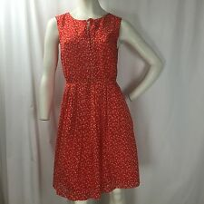 Hi There Karen Walker Orange Polka Dot Sun Dress Sz. 6