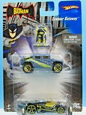 HOT WHEELS VHTF 2007 THE BATMAN TEMBLOR GETAWAY SERIES HUMMER & RD-09