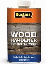 Rustins High Performance Wet Rot Wood Hardener Interior & Exterior 250ml NEW