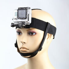 Elastic Adjustable Head Strap Belt Mount for GoPro Hero 4 3+ 3 2 1 Sport Camera