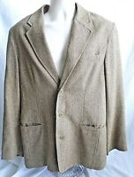 The Territory Ahead Size M Mens Sport Coat Jacket 3 Button Acetate Silk Lining